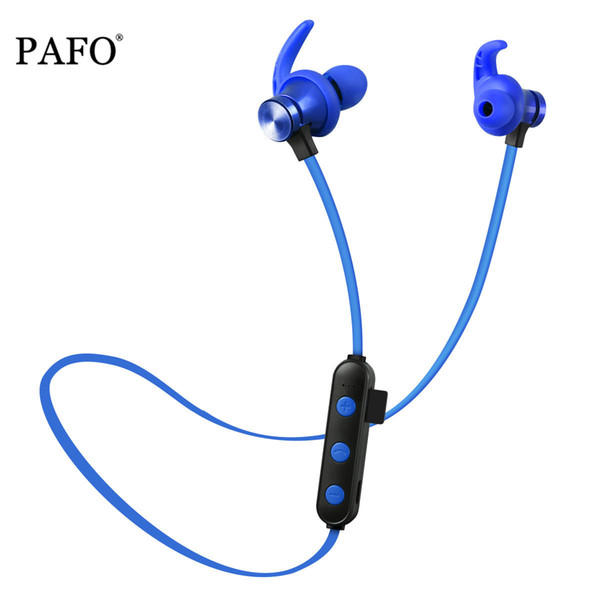 PAFO wireless headphone bluetooth earphone headsets for samsung galaxy phone sport stereo with memory/SD/TF card slot mic DHL Free Shipping