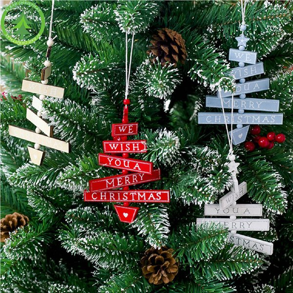 Christmas Tree Decoration Vine Wood Sign Pendant Christmas Decorations Arbol De Navidad Home Decor Outdoor Christmas Decor Outdoor Christmas