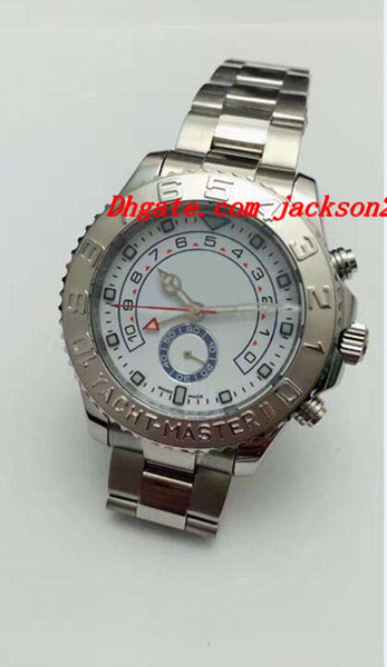 Luxury Watches Mens Stainless Steel Bracelet II 18K WHITE GOLD 116689 - BNIB Automatic Fashion Men's Watch Wristwatch