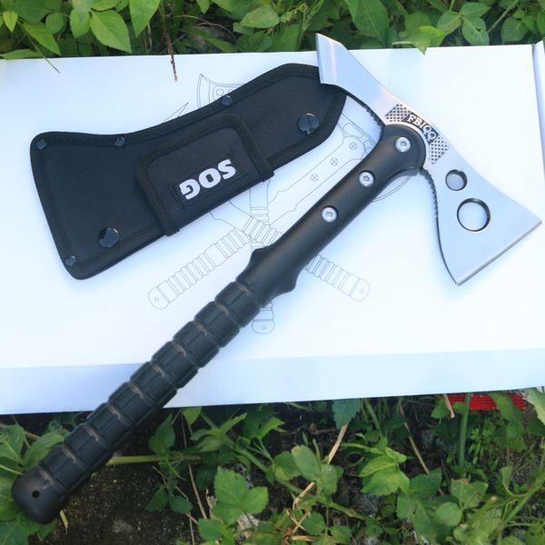 FBIQQ Tactical Axe Outdoor Hunting Camping Survival Machete Axes Hand Tool Fire Axe Hatchet Axe Free Shipping