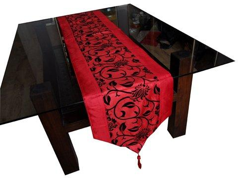 2015 woven damask print gold table runner red free shipping new style 200cm x 33cm cloth home garden textile hotel polyester