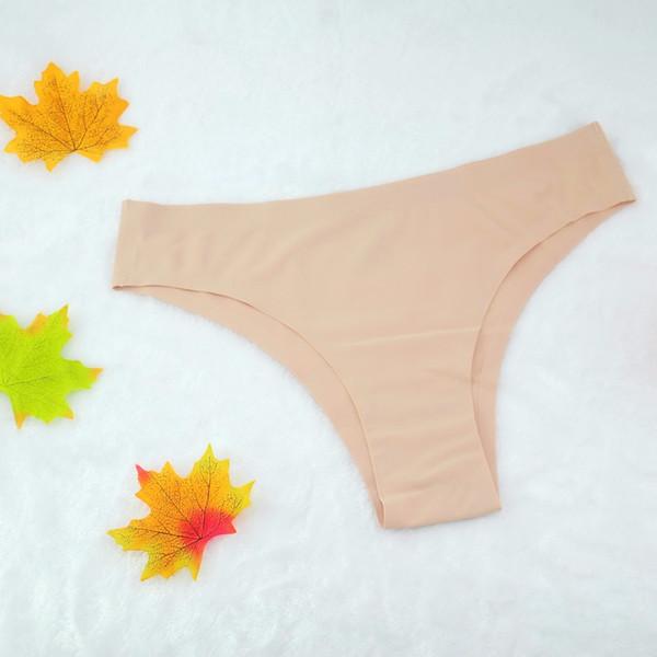 2018 Seamless Thong Sexy Panties Underwear Women Ultra-thin Traceless Cheekinis tanga Bikini G string Briefs bragas calcinha
