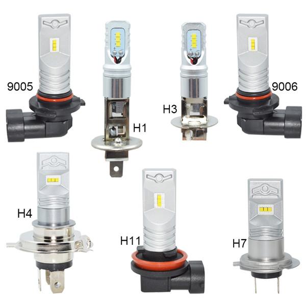 best selling Car headlight 80w H1 h3 h4 h7 h11 hb4 9006 hb3 9005 White 6000K 3200lm LED Car Lamp Auto lights Light Source 12V 24V