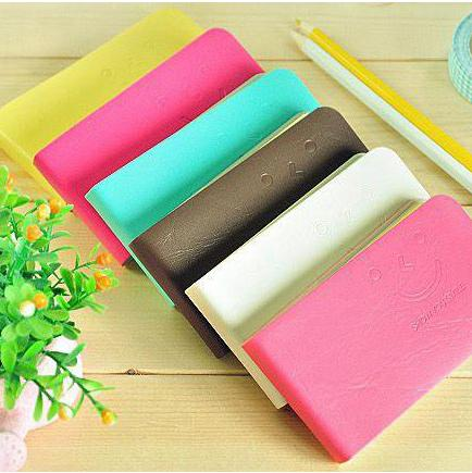 Cute Smiling Face Notepads Carry On Memo Small Notebook Mini Strip Notepad A Variety Of Color Inside Page Jotter Universal 0 98xc R