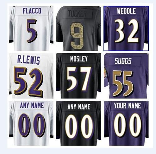 newest 742cd c95ee 2019 2019 Baltimore American Ravens Football Jerseys Joe Flacco Justin  Tucker Eric Weddle Steve Smith Sr Salute To Service Custom Jersey Cheap  From ...