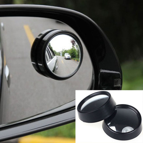 universal Driver 2 Side Wide Angle Round Convex Car Vehicle Mirror Blind Spot Auto RearView for All Car Styling 2PCS/set