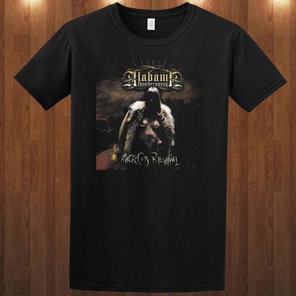 Alabama Thunderpussy Tee Stoner Металлическая полоса M L Xl 2xl 3xl Футболка Exhorder Mans Уникальная хлопковая футболка с короткими рукавами O - Neck Shirt