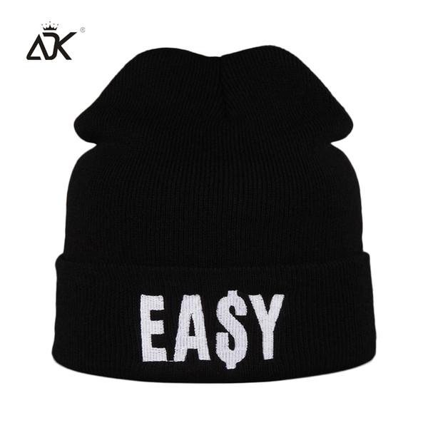 ADK Embroidery Men Women Black Cap Winter Warm 2018 New High Quality Brand Fashion Casual Hats Unisex #CAP188