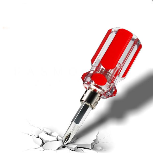 5pcs электрические инструменты для ремонта мотоциклов, телескопическая отвертка двойного назначения, крест слово Двуглавый отвертка