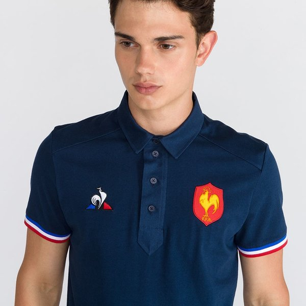 best selling POLO DE PRÉSENTATION XV DE FRANCE Jerseys size S-3XL TONGA RUGBY FIJI Maori All Blacks SYDNEY ROOSTERS WESTS TIGERS 2018 ANZAC ROUND JERSEY