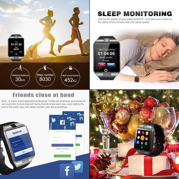 2018 Bluetooth Smart Watch - WJPILIS Touch Screen Smartwatch Smart Wrist Watch Phone Fitness Tracker
