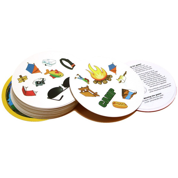 Best Quatily Board Games Spot it for kids playing it English version most classic cards game with out box