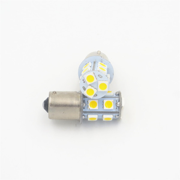 50PCS Ba15s 1156 P21W White Car Turn light Signal Super Bright 13 SMD LED Bulb 5050 12V