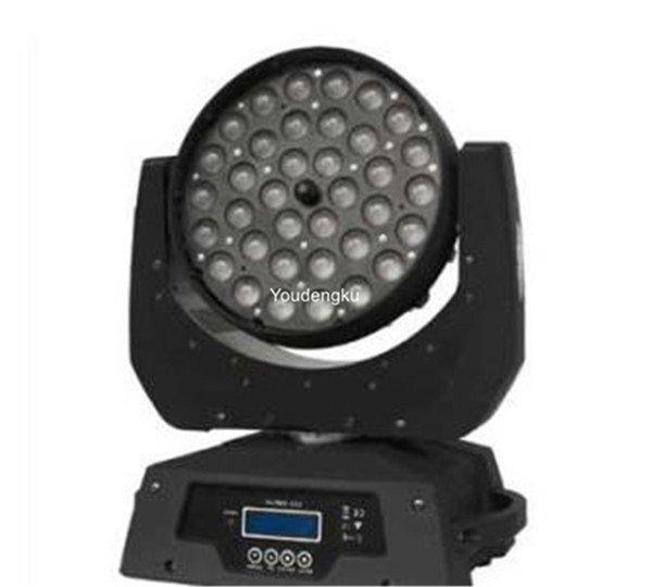 2pieces 36pcs * 10W RGBW 4 in 1 LED beweglichem Kopf 36x10 führte bewegliches Licht des Kopfwäschezooms 360w