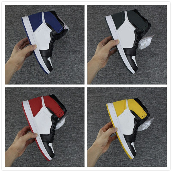 BEST HAND IN THE GAME 1 High OG Mens Basketball Shoes Sneakers MVP 1s Blue Moon Track Red Yellow Ochre Clay Green men designer shoes