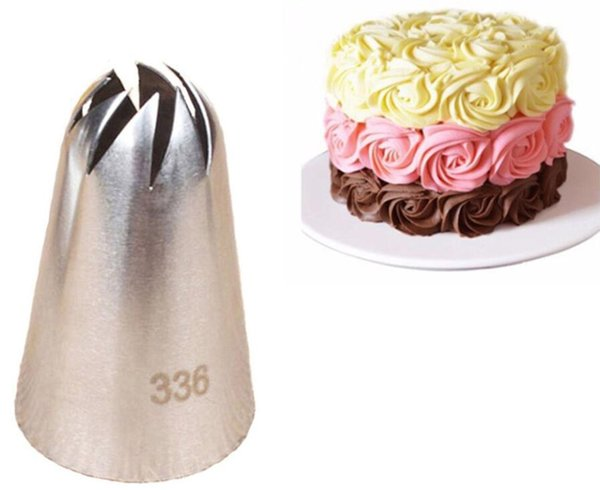 #336 Large Size Icing Piping Nozzle Cake Cream Decoration Head Bakery Pastry Tip DIY Cakes Decorating Tools