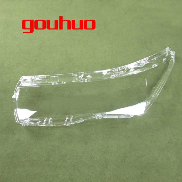 transparent lampshade lamp shade lens front Headlight shell headlamp cover mask For Toyota corolla 14-15 2pcs