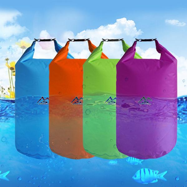 5L 10L 20L 40L Outdoor Dry Bag impermeabile Sacco a secco Sacco impermeabile Borse ingranaggi galleggianti per canottaggio Fishing Rafting Nuoto