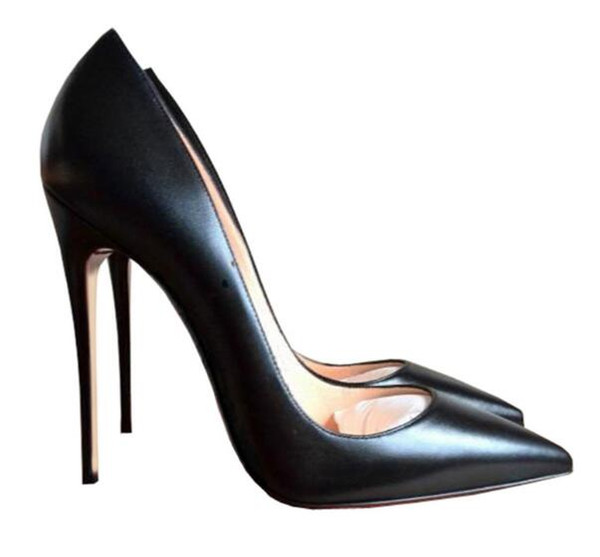 Großhandel 2018 Rote Untere Schuhe 10cm High Heels