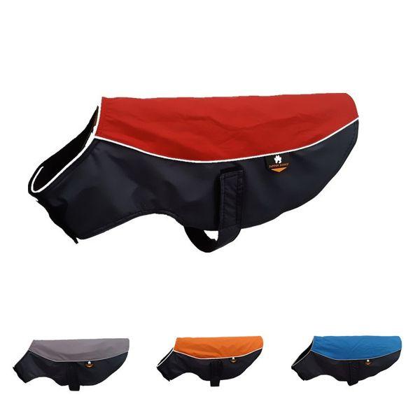 Dog Coats Jacket Sport Parka Outdoor Vest,Waterproof Fleece Lined Dog Sport Apparel Outdoor Clothing with Reflective Dog Harness