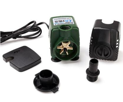 Hydroponic systems Silent Submersible Water Pump Aquarium accessories for Fish Tank Rockery Fountain Pond Pump 220V 15W 1800 L/H
