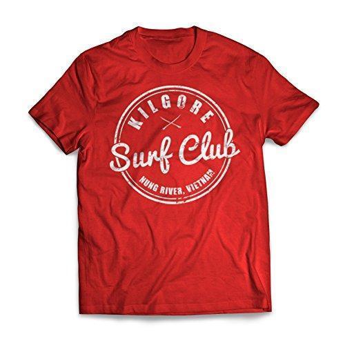 Neue Herren Frühling Sommer Kleid Kurzarm Casual Kilgore Surfer Club Apokalypse jetzt T-Shirt
