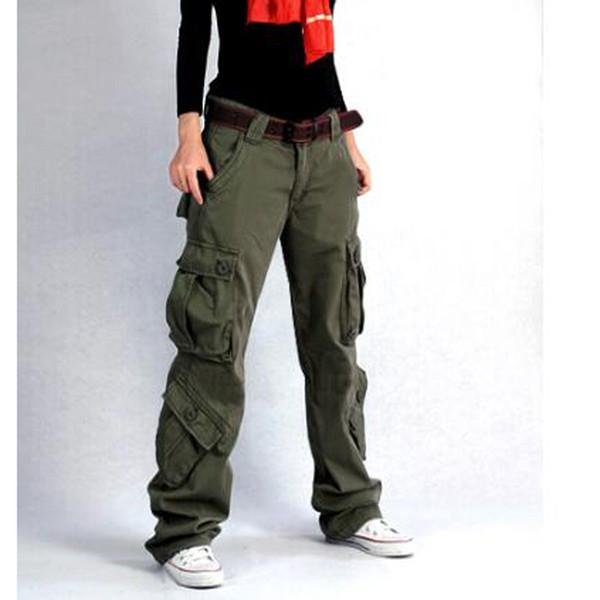 Yeni Varış Saf Pamuk Kargo Pantolon kadın Hip Hop Kadınlar Için Gevşek Kot Baggy Pantolon Pantolon Dipleri Womam Wtaps