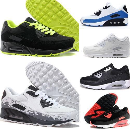 Großhandel Nike 2018 Drop Männer Großhandel Laufschuhe Günstige Trainer Turnschuhe Luftpolster Herren Schuhe Klassische 90 Sportschuhe Shipping Sport VSUpzM