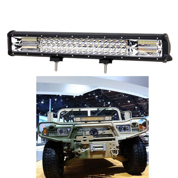 Best Light Bar >> 20inch 288w 3 Row Led Light Bar Offroad Combo Beam 4000k 6000k Strobe Led Work Light Bar For 12v Truck Suv Atv 4wd 4x4 Best Led Work Light Review Best