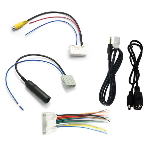 Wholesale /Pack Suit Car Audio Stereo Wiring Harness Adapter ... on