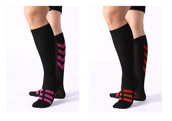 Men Women Compression Socks Breathable Pressure Circulation Anti-Fatigu Knee High Orthopedic Support Stocking Sporting Sock hot