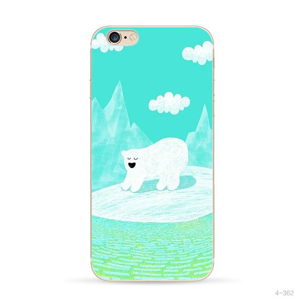 Designer Cartoon Case For Iphone 7 8 TPU Waterproof New Funny Phone Case For Iphone Fast Delivery
