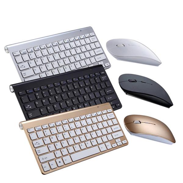 Ultra Slim Mute Wireless Keyboard Scissors 2.4GMini Keyboard Mouse Set Office for Mac Windows XP 8 7 10 Vista Android TV Box