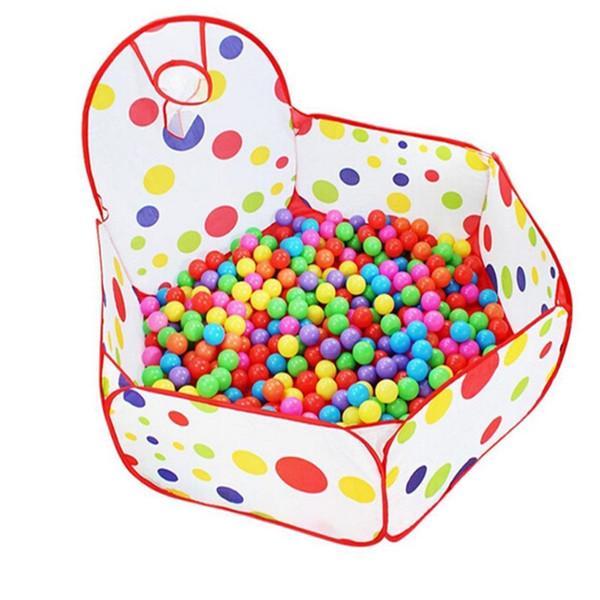 Leadingstar portbale la tienda del juego con el aro de baloncesto de 1,2 m Hexágono del lunar Doblar niños Carpa casa del juego de regalo de Navidad zk30
