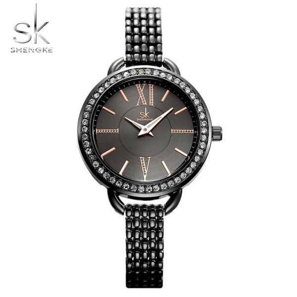 Goldene Uhren der Spitzenmode-Marken-Luxusuhren-Frauen wasserdichte zufällige Quarz-Armbanduhr-weibliche Uhr für das weibliche Dropshipping
