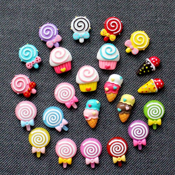 Summer Korea Fridge Paste Three-dimensional Candy Magnet Sticker Refrigerator Home Ornament Childhood Message Subsidies 10 Pack