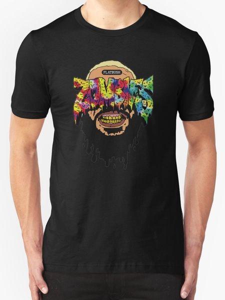 flatbush NUEVA CAMISETA TEE SIZE S - 3XL nuevo 2018 Verano Moda Camiseta Hombre manga corta algodón Envío gratis tees