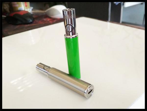 grande vape batteria 510 filetto vaporizzatore voltaggio variabile aperto vape bud touch penna mini cartuccia olio fumante batteria VV fumo LIPSITCK