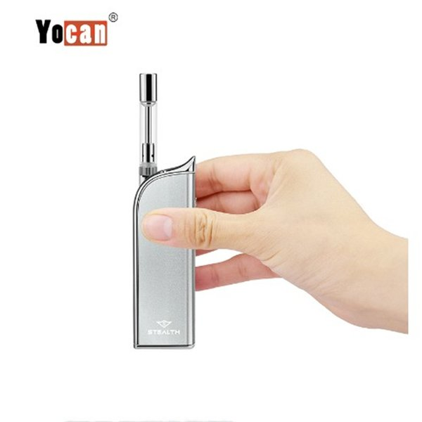 Auténtico Yocan Stealth Kits Cera / Aceite 2 en 1 Vaporizador 4 colores con 650mAh Batería electrónica Vape Oil Pens Caja Mods Kits