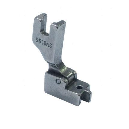 Sewing machine presser foot industrial electric vehicles invisible zipper foot zipper S518NS whole steel baffle