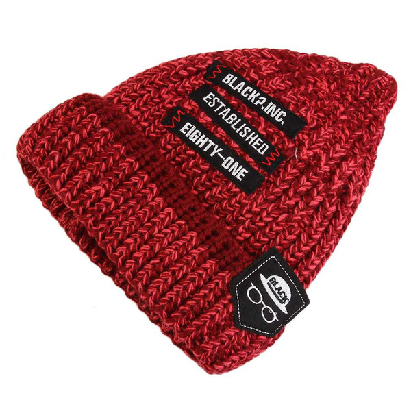 Autumn Winter Fashionable Men And Women All Matched Warm Knitted Wool Hat Casual Unisex Cap Beanies top quality 2017 New Arrival
