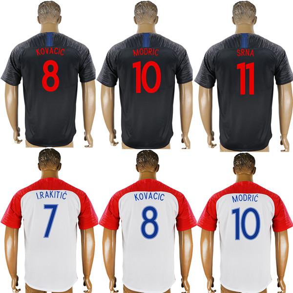 factory price f7b5c 4aadd 2018 2018 Soccer Jerseys Croatia World Cup PERISIC REBIC ...