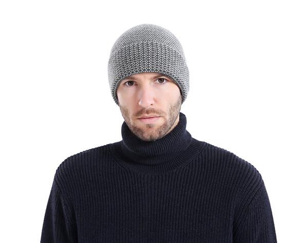624ce96c96de1 New Beanies Men Hat Winter Hats For Men Women Knit Hat Caps Skull Brand  Bonnet Casual Skullies Warm Cap Black Winter Beanie 2018 Trucker Caps  Summer ...
