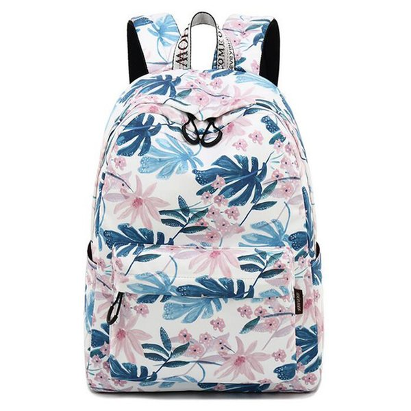 wholesale Brand Women Backpack Big Waterproof Flower Student Travel School Bags For Teenagers New Girls Designer Backpack Women