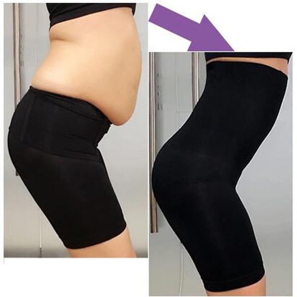 Top 2018 New High Quality Women Fashion Leggings Sexy Beauty Slim Breathable Shapewear Fat Shapers Body Plus Size Shorts Bodysuit Pants