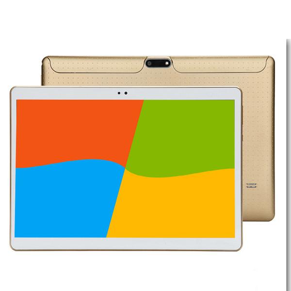 2018 el más nuevo 10.1 pulgadas Tablet PC Android 7.0 4GB RAM 32GB ROM 10 Cámaras dobles 8.0MP IPS Teléfono Google Tablets Regalos MT6797