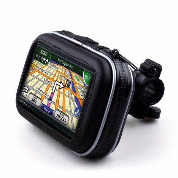 5 Inch Motorcycle Bicycle Bike Phone Mount Holder Universal Waterproof Motor Cycling Bag Case For Phone GPS with Bracket