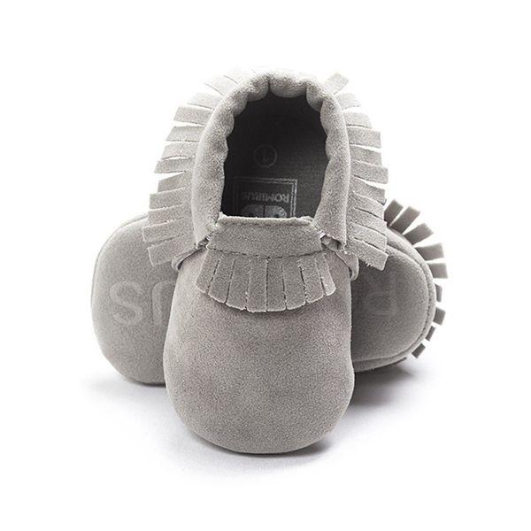 Newborn Toddler Baby Girls Boy Tassel Soft Soled Non-slip Crib Shoes Infant Coral Velvet Moccasins First Walkers Dropshipping