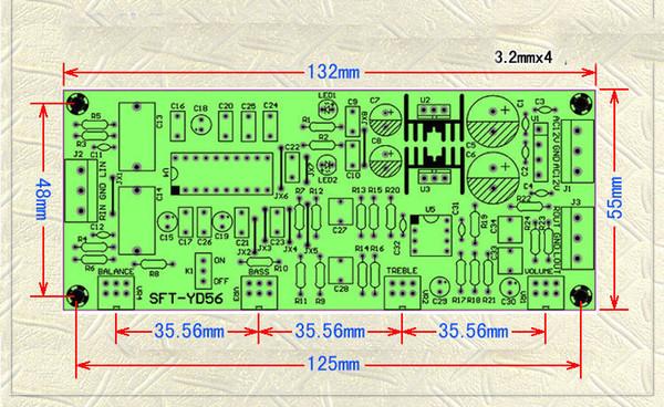 2019 LM1036 + NE5532 Stereo Preamp Preamplifier Tone Board Audio Amplifier  Board From Zhenyuan666, $27 73 | DHgate Com