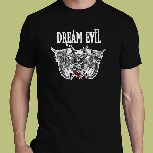 Tee Shirt Design Compression Dream Evil S M L Xl 2Xl 3Xl 4Xl O-Neck Short-Sleeve T Shirts For Men